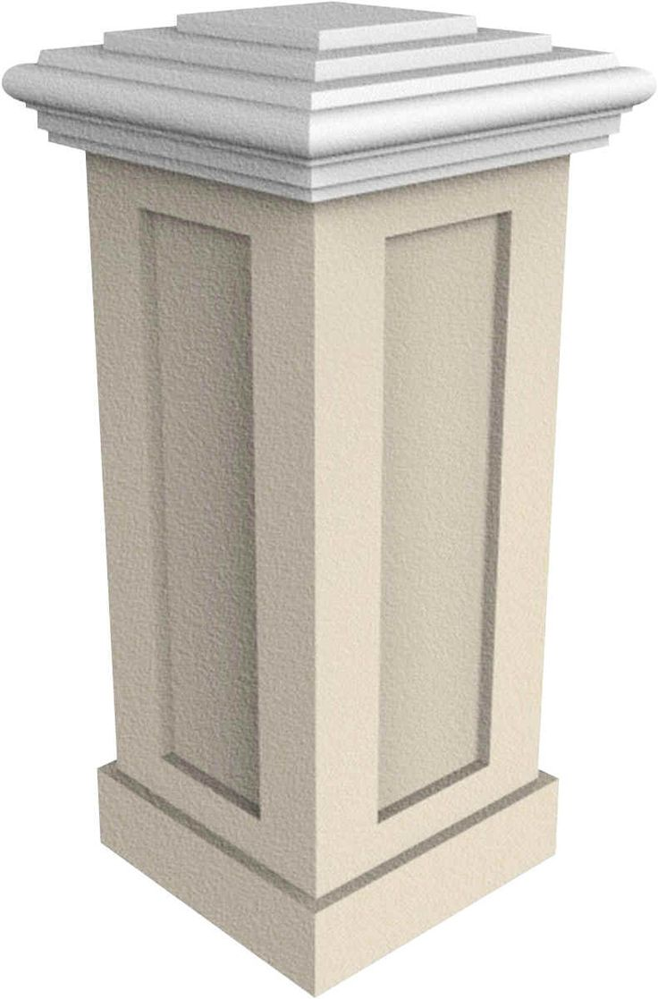 9 best stucco mailbox images on pinterest columns mail for Stucco columns