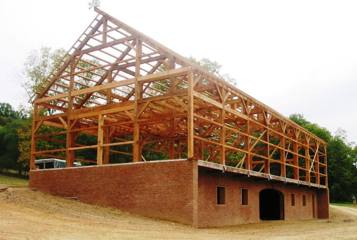 1000 images about timber frame on pinterest pole barn for Oak framed house designs
