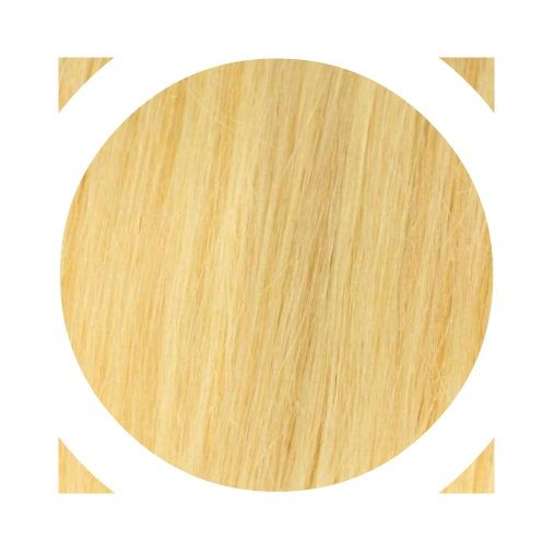 """Indisches Remy Haar - Italienisches Keratin   """"Premium Haar"""" Angen's Extensions mit keratin Technische Daten: Haar-Qualität: 100% Echthaar   Anzahl : 20 Strähnen Gesamtgewicht: 20g Haarlänge: ca. 55/60cm Haarstruktur: Glatt Farbe: Goldblond #DB3 Hitzeresistent: Ja (Normales stylen mit Föhn, Glätteeisen, Lockenstab etc. möglich) Durchschnittliche Haltbarkeit: ETWA 6 Monate"""