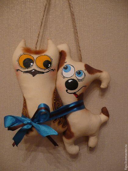 """Ароматизированные куклы ручной работы. Ярмарка Мастеров - ручная работа. Купить Интерьерная игрушка """"Не пара..."""". Handmade. Бежевый"""