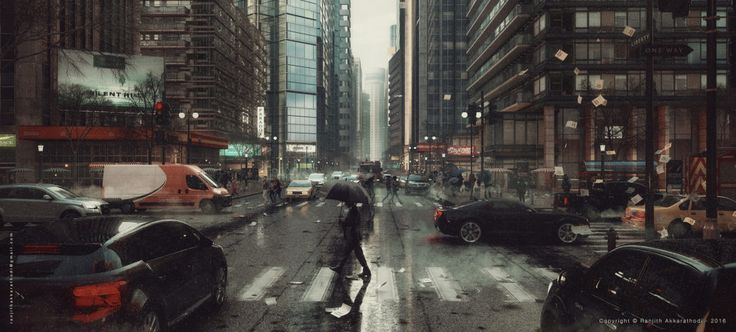 The Rainy Day - Ronen Bekerman - 3D Architectural Visualization & Rendering Blog