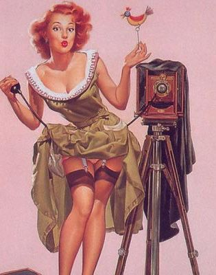 pin up photographer...does it get sexier?
