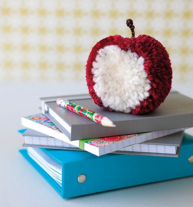 how cool! pompom apple
