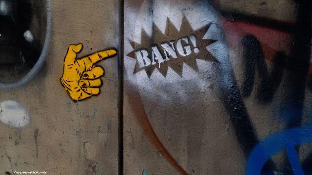 Stencil, escadaria do viaduto Nove de Julho SP