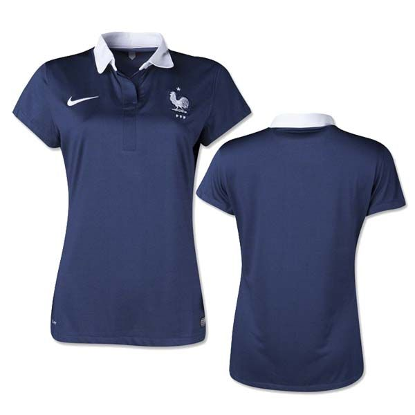 france maillot foot femme coupe du monde 2014 domicile. Black Bedroom Furniture Sets. Home Design Ideas