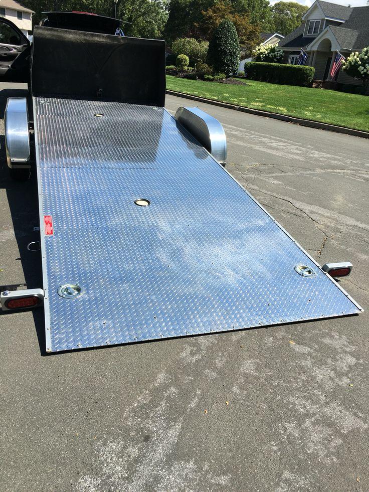 Sloan Kwik Load Trailer Race Car Hauler
