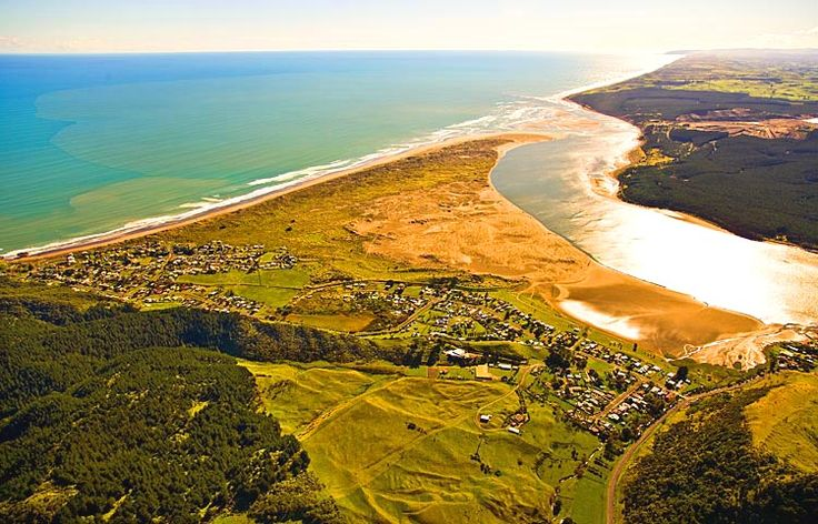 Port Waikato,  see more at New Zealand Journeys app for iPad www.gopix.co.nz