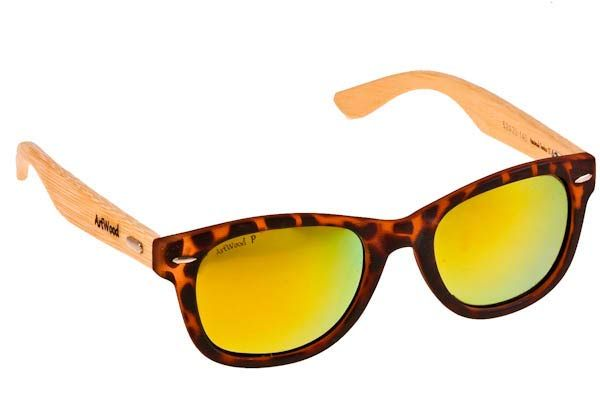 Γυαλια Ηλιου  Artwood Milano Bambooline 1 MP200 BRΤGRMP Brown Tort-Gold Mirror Polarized - bamboo Τιμή: 99,00 € #eyeshopgr #artwoodmilano