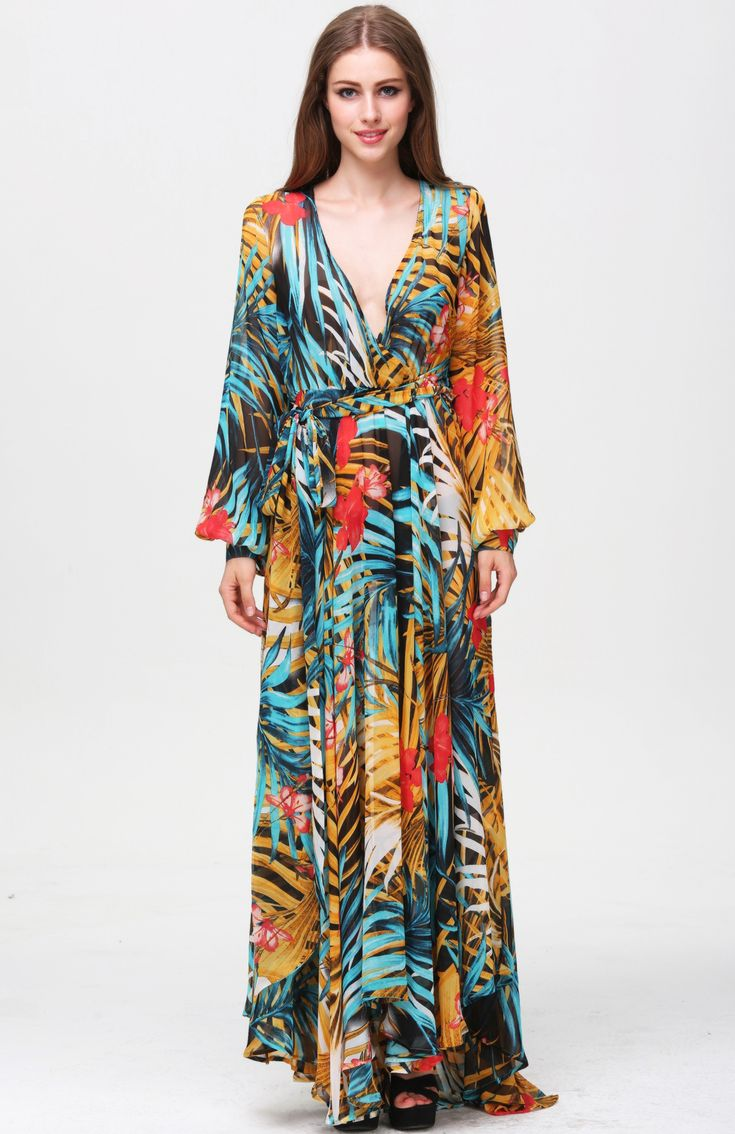 parides_gypsia_bohemian_v_neck_long_maxi_dress_1