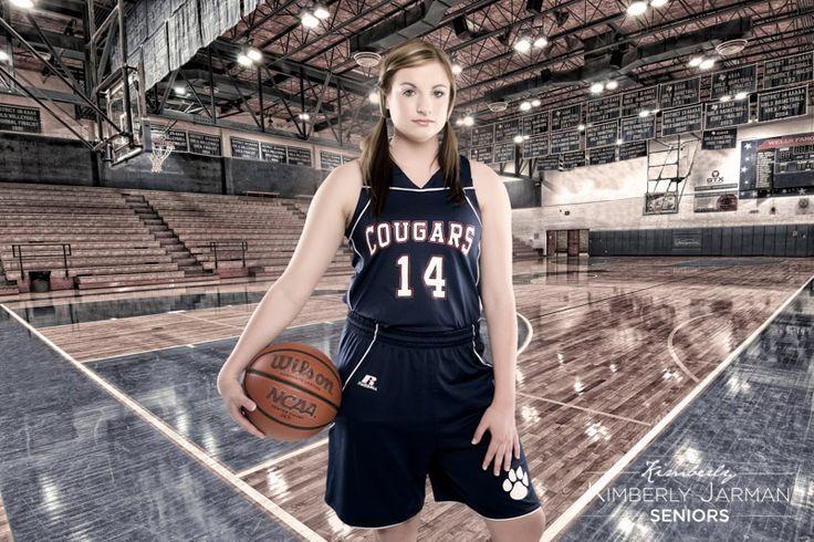 High School Basketball Senior Pictures. Kimberly Jarman Photography - www.kimberlyjarman.net