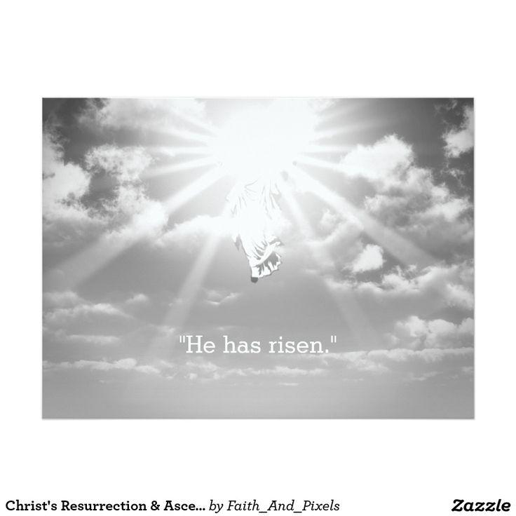 Christ's Resurrection & Ascension Into Heaven