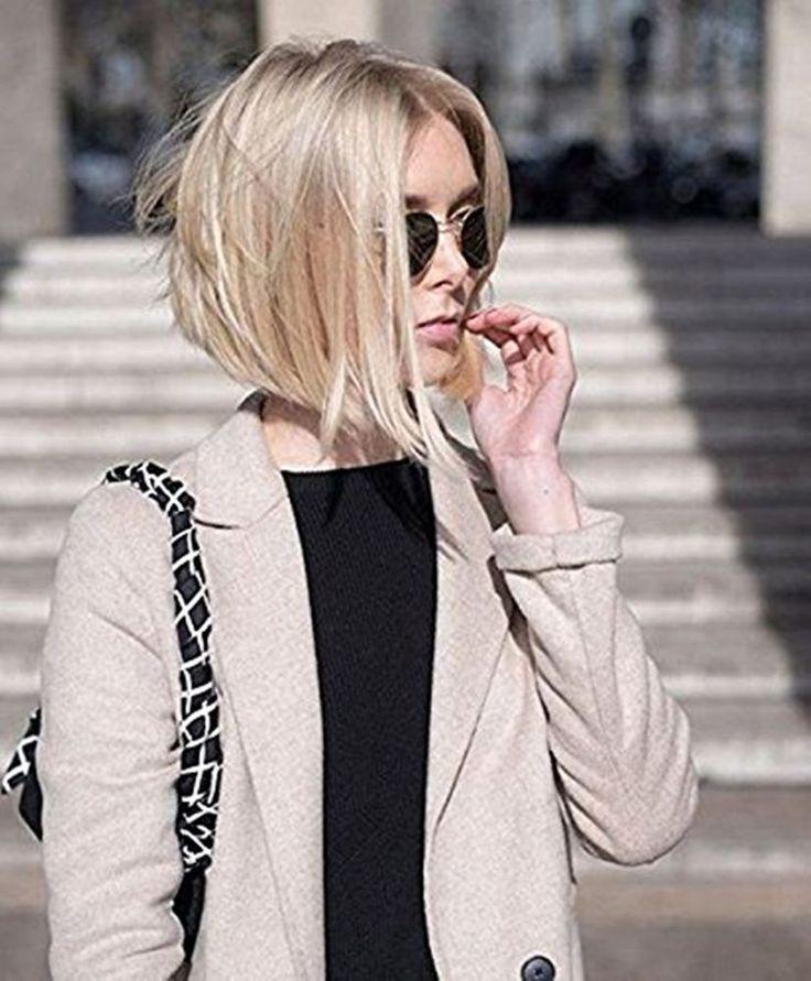 Details über Full Shine Short Bob Perücken Farbe # 6 Verblassen # 613 Blonde Ombre Front Lace Perücken