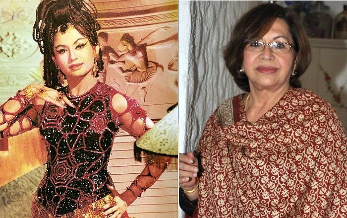 Yesteryear #Bollywood #Actresses then and Now - Helen