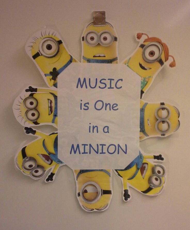 Music is One in a Minion