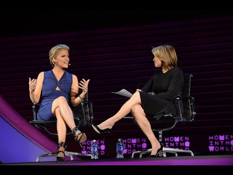 Fox News' Megyn Kelly in conversation with Katie Couric - YouTube. The FOX News host talks about her parents, overcoming adversity, and battling Donald Trump. She is interviewed on stage by Yahoo news anchor Katie Couric during the 2016 Women in the World Summit in New York City.