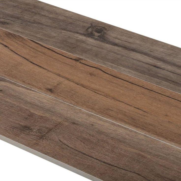 Birch Forest Noce Wood Plank Porcelain Tile In 2019