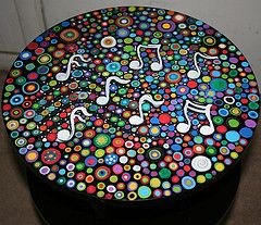 Whimsical Hand Painted Art Furniture | ... World's Best Photos by Rick Cheadle Art and Designs - Flickr Hive Mind