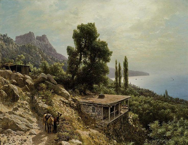 Lev Lagorio - Near Ay-Petri in the Crimea