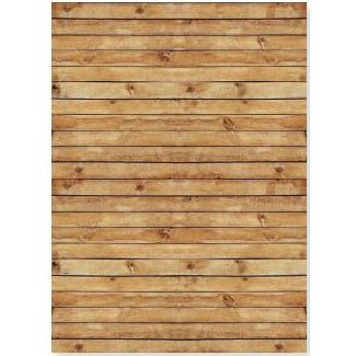 Canadian Lumberjack Wood Grain Photo 4.5ft x 6ft Backdrop Party Supplies Canada - Open A Party