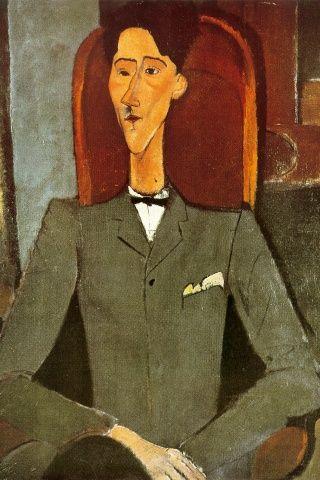AMEDEO MODIGLIANI - portrait de cocteau
