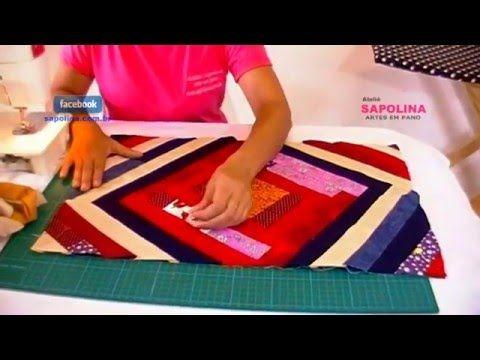 Fazendo tapete com retalhos parte 2 - YouTube