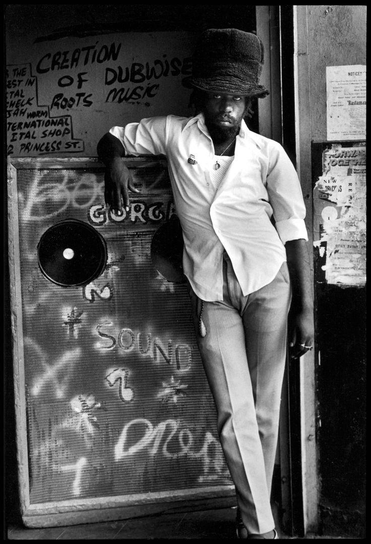 © Dave Hendley, 1977, Jah Stitch, Orange Street, Kingston, JamaicaPhoto by / via: davehendley!