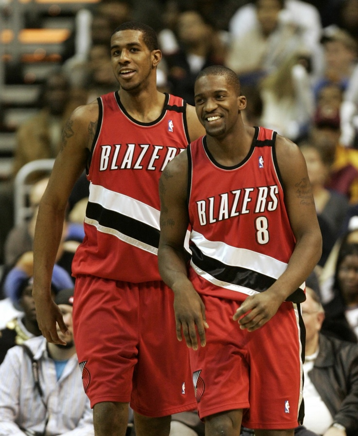 2 of my favorite basketball players:) LaMarcus Aldridge & Martell Webster