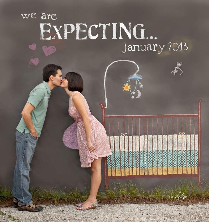 .Anunciando el embarazo