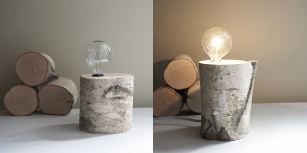 Lampada fai da te artigianato   Lampada di legno fai da te   DesignBuzz