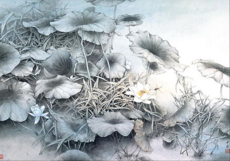 Chinese painting by Shen Wei