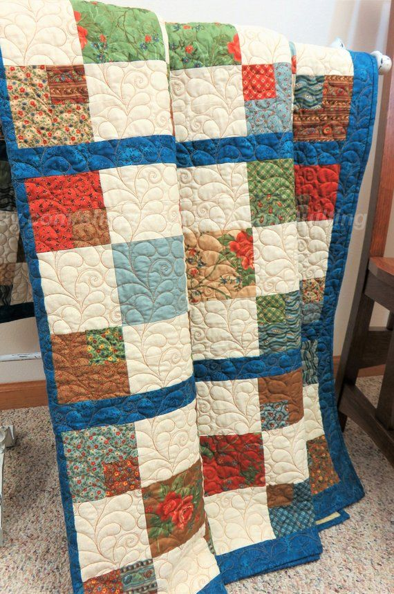 Handmade Full Size Quilt for Sale Double size Quilt Queen | Quilts