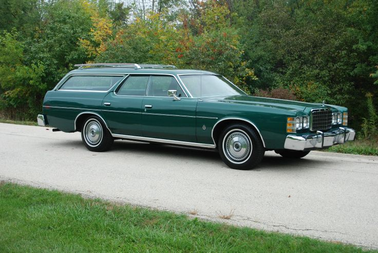 "1978 Ford LTD wagon with 67K original miles and in original ""Dark Jade Metallic"" paint. A real Beauty!"