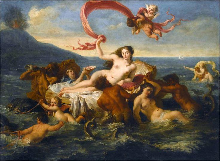 The birth of Venus, Noël Nicolas Coypel