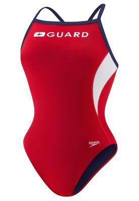 Guard Energy Back - Speedo Endurance Lite Lifeguard swimsuit