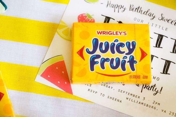 Tutti Frutti  Birthday Party Ideas   Photo 2 of 22