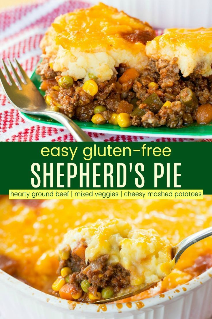 Easy Shepherd S Pie Recipe Gluten Free Cupcakes Kale Chips Recipe In 2020 Shepherds Pie Recipe Easy Easy Pie Recipes Comfort Food Recipes Casseroles