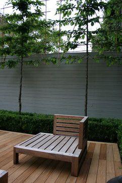 Courtyard & the Smaller Gardens  landscape - by Laara Copley-Smith Garden & Landscape Design