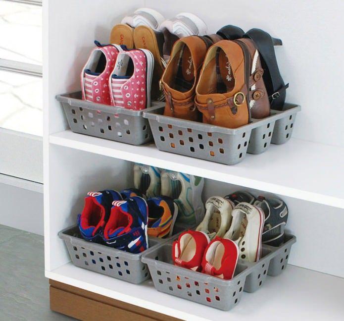 корзины для хранения обуви