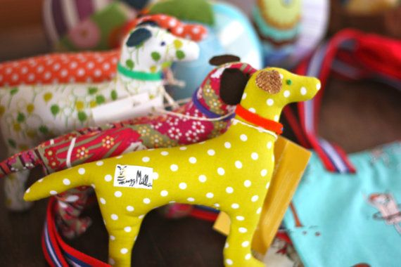 """""""Be honest: have you started thinking about the holidays? I took one look at these adorable pups and knew there'd be one in each stocking this year!"""" - Stacy #KidsStuffWorld"""