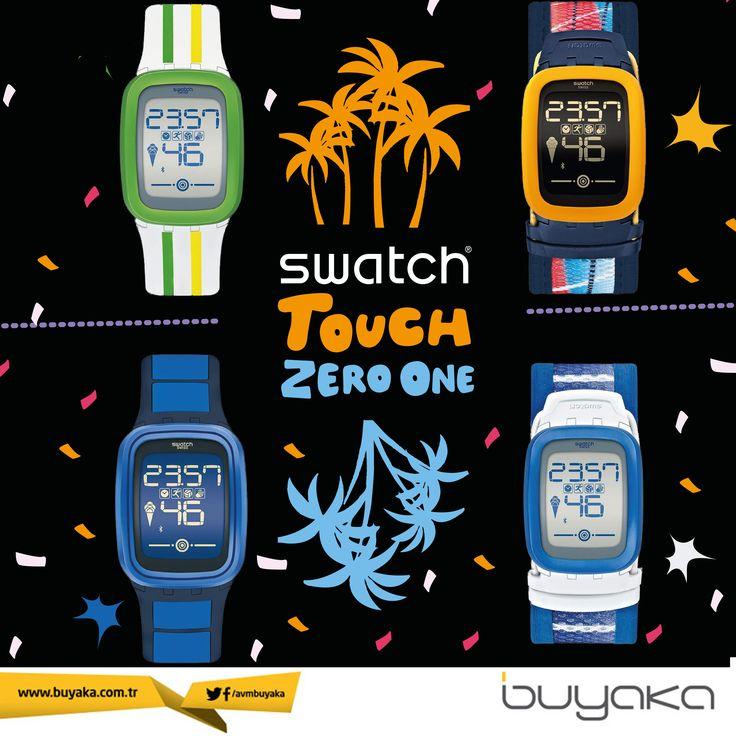 Adım sayar, alkış ölçer, plaj voleybolu arkadaşı, motivasyonunu arttıracak bir koç ve tabii ki bir Swatch! #SwatchTouchZero'ya dokun, eğlence başlasın!