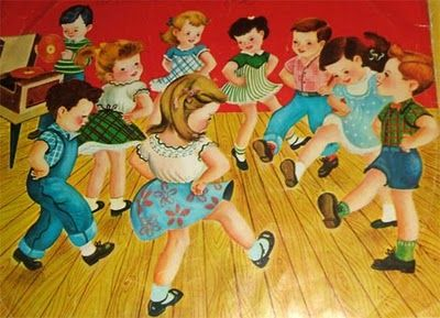 Doing the Hokey Pokey - that's what it's all about! ;)loved doing this on my roller skates.