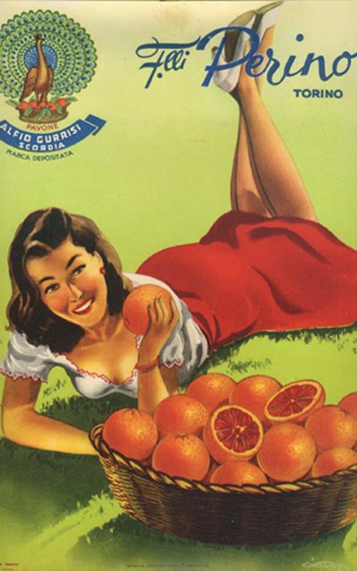 italian food poster | Vintage Kitchen | Pinterest