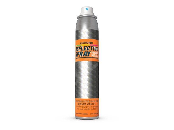 Albedo100 Reflexní sprej na kov, dřevo, plasty - 200 ml