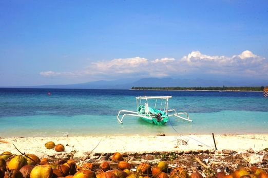 No fishing here: The people of Gili Meno are aware of the benefits that come from protecting their natural environment. ...