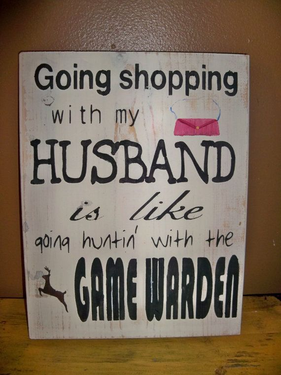 Going Shopping With My Husband