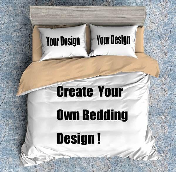 Create Your Own Design Bedding Duvet Cover Set Comforter Pillowcase Bed Duvet Covers Bed Comforters Duvet Cover Sets