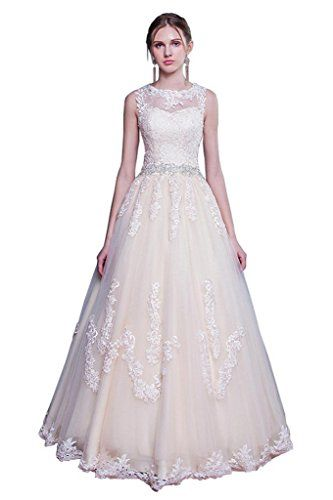 Cheap Vestido De Noiva Buy Quality Directly From China Beaded Bridal Gown Suppliers Exquisite Lace O Neck A Line Ball Wedding Dresses 2017