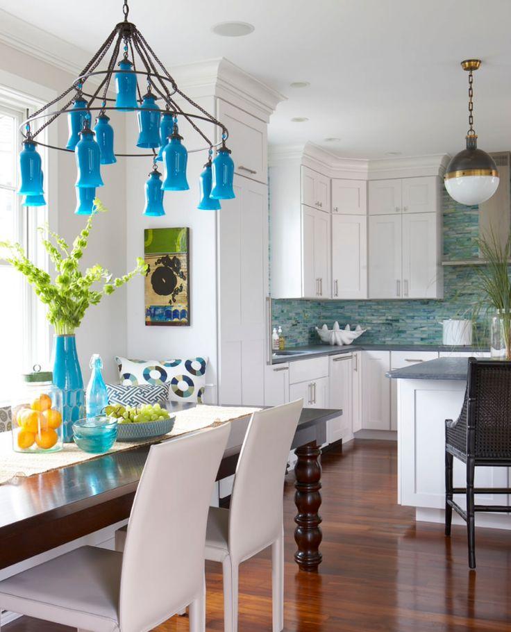 Tam da yazlık evler için düşüneceğin güzel bir mutfak dekorasyonu  #dekorasyon #mutfak