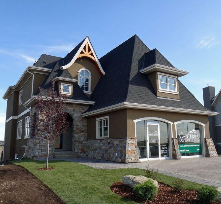 Beautiful rock on this home www.cooperscrossing.ca #coopersairdrie