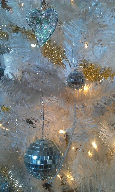 Ornaments on my Christmas tree